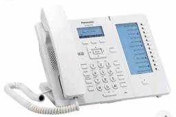 Aparelho Ip Sip Kx-hdv230x Branco Panasonic Hts32 Sip
