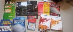 Livros de inglês novos e usados