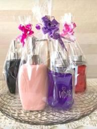 Kit Presente Mãe (saboneteira + aromatizante )