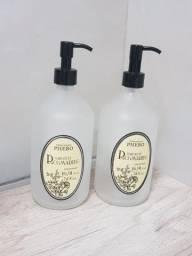 Frascos Sabonete Líquido Rosmarino - Perfumaria Phebo