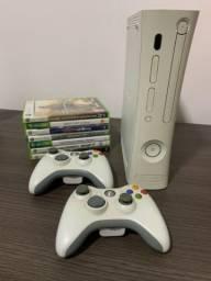 X-Box 360 com jogos originais
