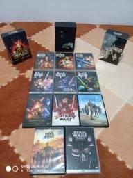 coleção saga completa Star Wars leia o anuncio
