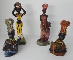 Africanas em Resina