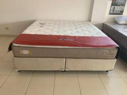 Promoção cama box + colchao american extra firme superking 193x203 por:2599,99