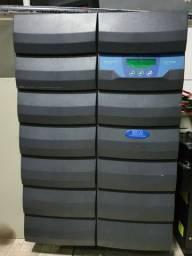 Nobreaks e banco de baterias estacionárias ups completa