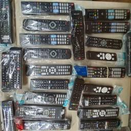 Tenho vários modelos de controle de televisão smart e Netflix
