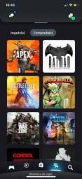 36 Jogos PS4 + Conta com 10 meses de plus