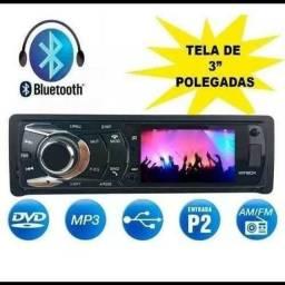 Rádio automotivo mp5 com DVD