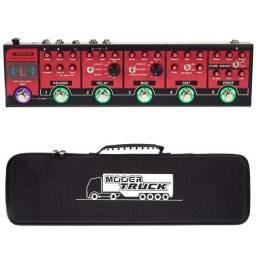 Pedaleira Para Guitarra Mooer Red Truck - Cpt1 30% Off