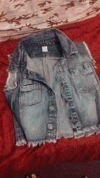 Colete Jeans seminovo
