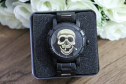 Relógio Masculino Skull