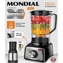Liquidificador Turbo 1000W Mondial - Entrega sem Taxa