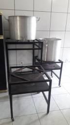 Kit para produção de cerveja artesanal de 120 litros