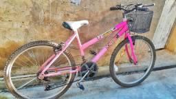 Bicicleta Aro 26 feminina da Minnie