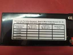 Bateria nova 12v /7ª para nobreak,alarme,cerca eletrica