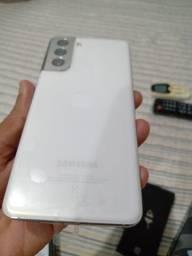 Celular Samsung Galaxy S21 5G 128gb, Novo Garantia de Um Ano.