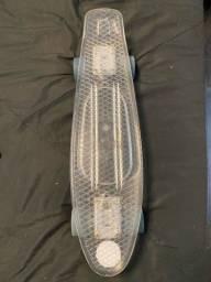 Mini Cruiser Acrilico transparente até 100kg