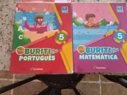 Livro português e matemática 5 ano