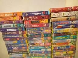 56 fitas vhs Disney desenhos original