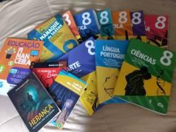Livros 8 ano Escola adventista