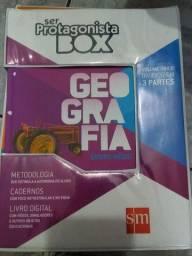 Box Geografia - Ser Protagonista SM - Ensino Médio