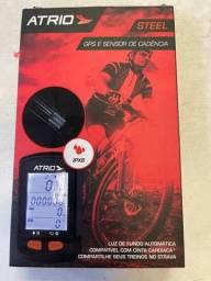 Atrio Steel Gps e sensor de cadência