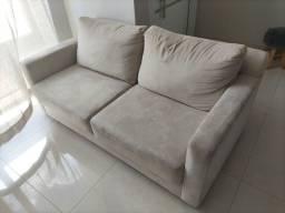 Sofa retrátil bege