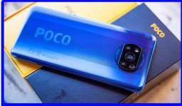 Poco X3 64 GB/6GB Ram sem nfc Índia Azul