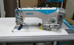 Máquina de Costura Industrial Reta Jack F4 Nova Completa