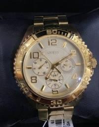 Relógio Guess - dourado - original - mod W0231L2