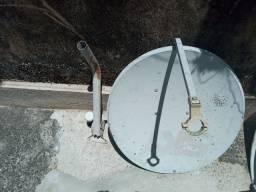 Antenas usada 60cm e 80cm - precinho