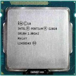 processador 1155 G2020 +ssd kingston 120GB