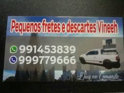 PEQUENOS FRETES maringá e região WhatsApp 44- * ligação * VINICIUS GUSTAVO