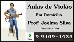 Aulas de Violão em Domicílio, Professora Joelma Silva