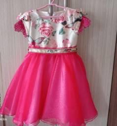 Vestido festa Petit Cherie tamanho 3