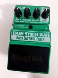 Pedal Digitech Bass Synth Wah Para Baixo