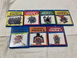Blu Ray Coleção: Loucademia de Polícia! Originais
