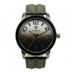 Relógio Masculino Tuguir Analógico 5001 - Preto e Verde