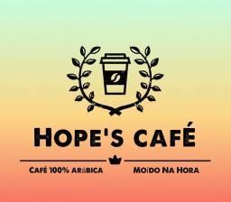 CAFÉ MOÍDO NA HORA 100% ARÁBICA E MOCA