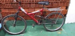 Bicicleta com jogos de marcha