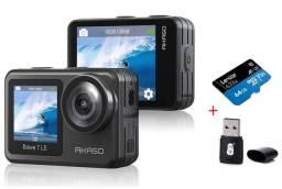 Camera 4k Akaso Brave 7 LE + cartão de memória 64GB