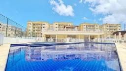 Apartamento Nascente/ 02 Quartos/ Todo no Porcelanato/ com Giardino de 55 m²