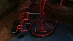 Cadeira de rodas reformada so falta o pano de fundo