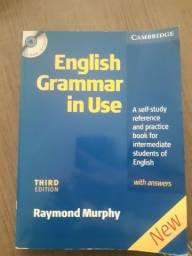 English Grammar in Use com cd ROM lacrado