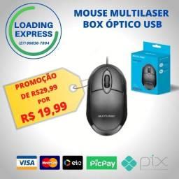 Mouse Multilaser Box  Optico Usb