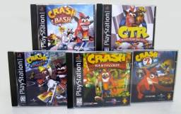 Coleçao Crash PS1 genericos (5 jogos)