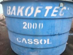 Caixa de água 2000 mil litros