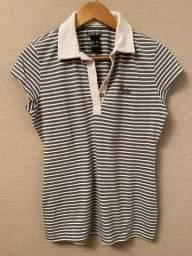 camiseta listrada colcci