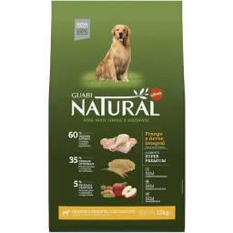 Ração Guabi Natural Frango e Arroz Integral para Cães Adultos Raças Grande e Gigante 15kg