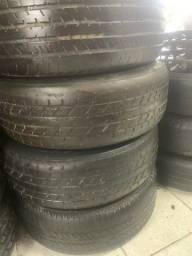 Rodas 15 com pneus meia vida pra qualquer carro em 6x nos cartões